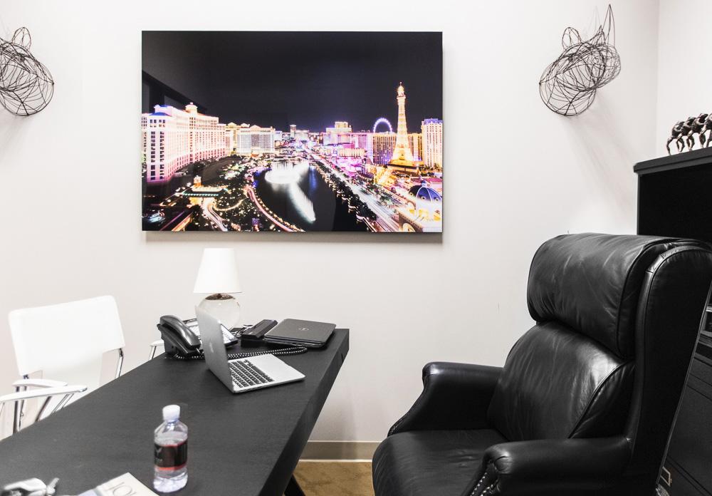 Las Vegas Fine Art in Luxury Real Estate Office